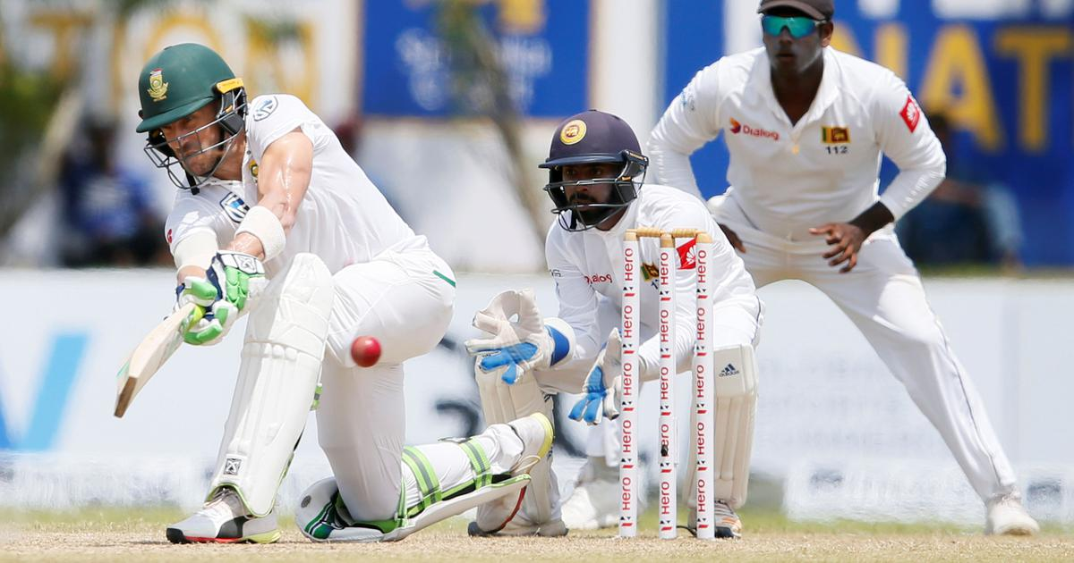 South Africa skittled out for 126 as Sri Lanka take upper hand in first Test