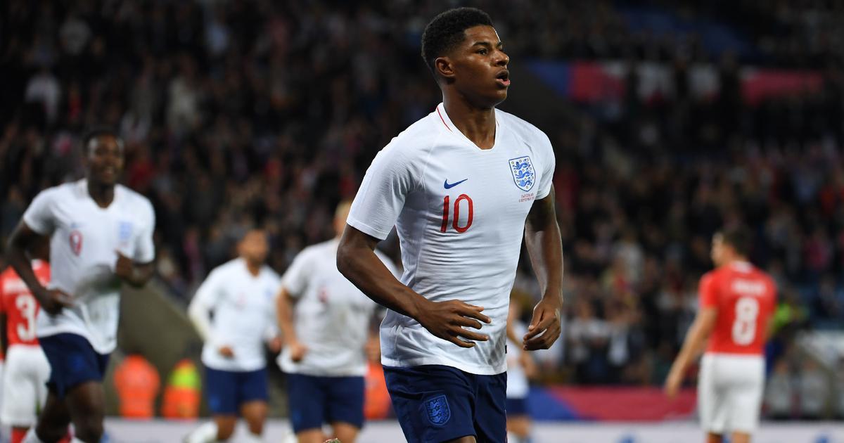 Marcus Rashford winner stops England's losing streak, Lukaku double sinks Iceland