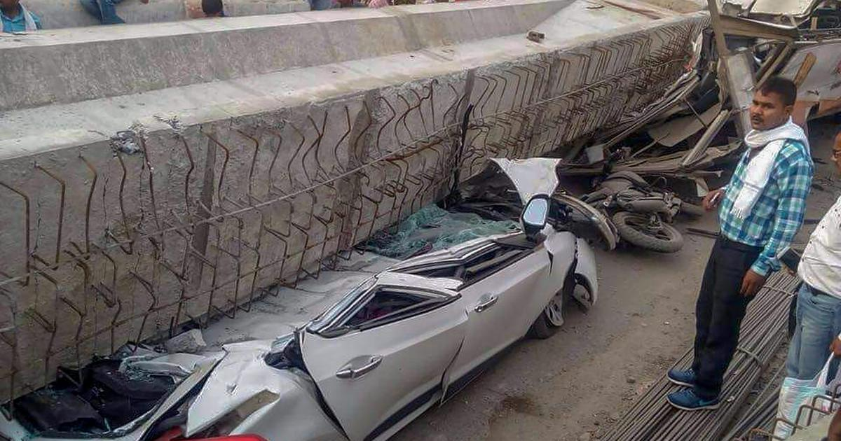 Under construction flyover collapses in Varanasi, 12 feared dead