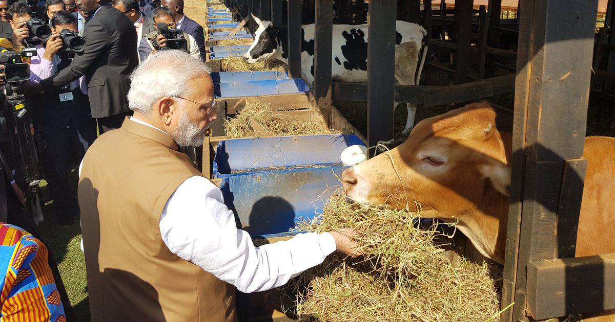 Image result for modi with animal