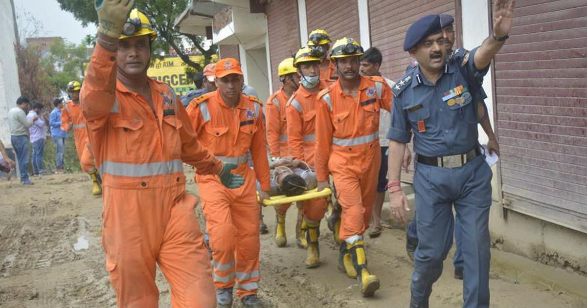 Ghaziabad building collapse: Toll rises to two after boy is found dead under debris, eight rescued
