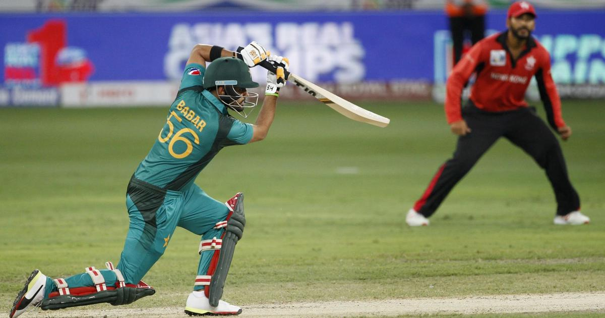 Asia Cup: Pakistan romp home to eight-wicket win over Hong Kong