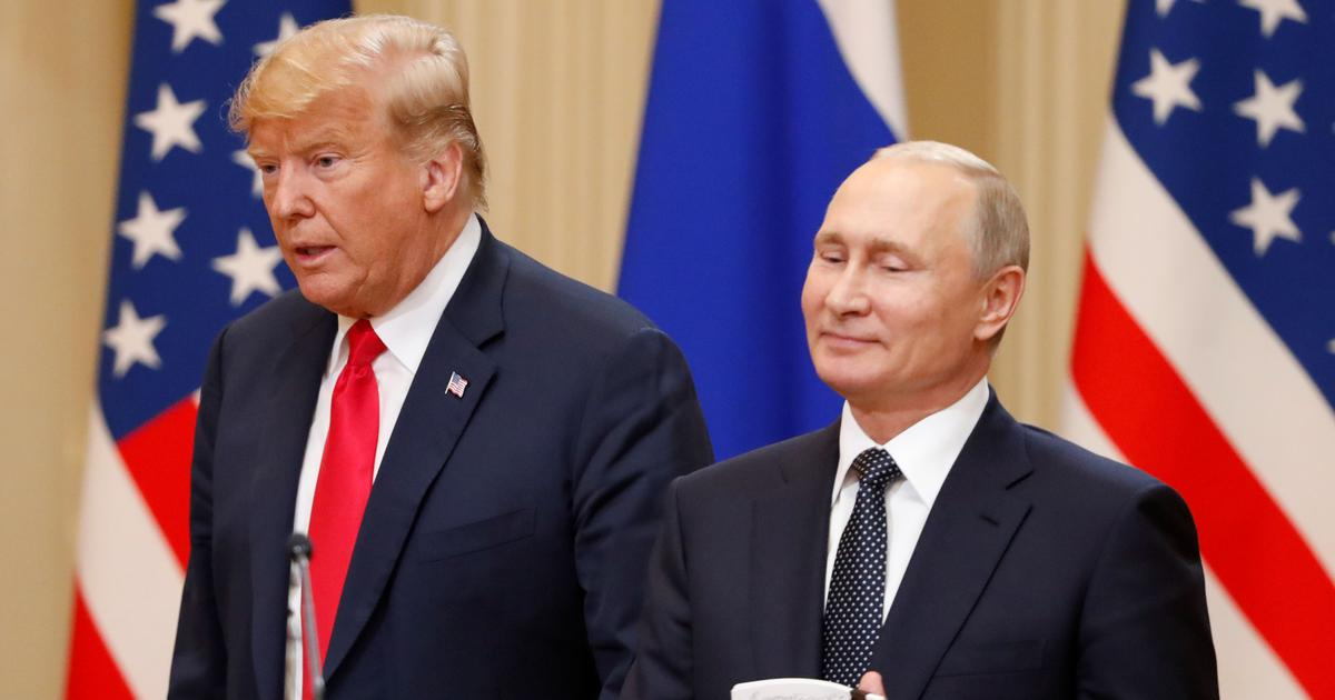 Putin proposed eastern Ukraine vote to Trump in Helsinki