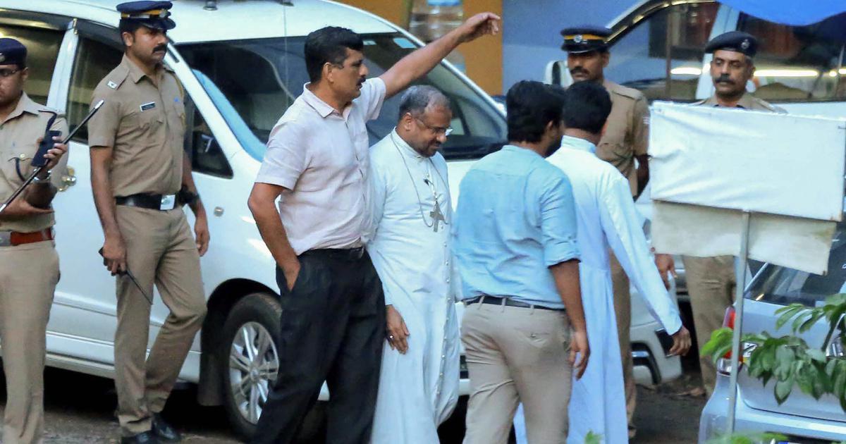 Kerala nun rape case: Accused Bishop Franco Mulakkal released on bail