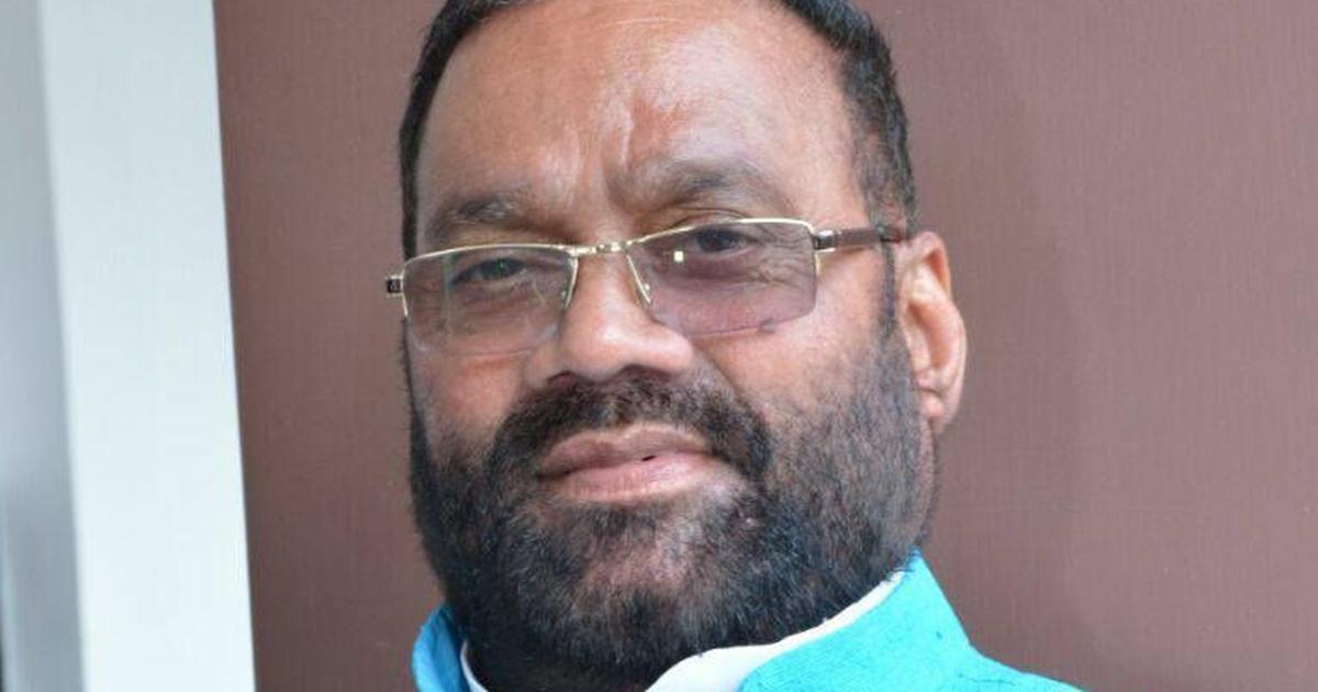 योगी सरकार में मंत्री स्वामी प्रसाद मौर्य का विवादित बयान, राहुल गांधी को पागल कहा