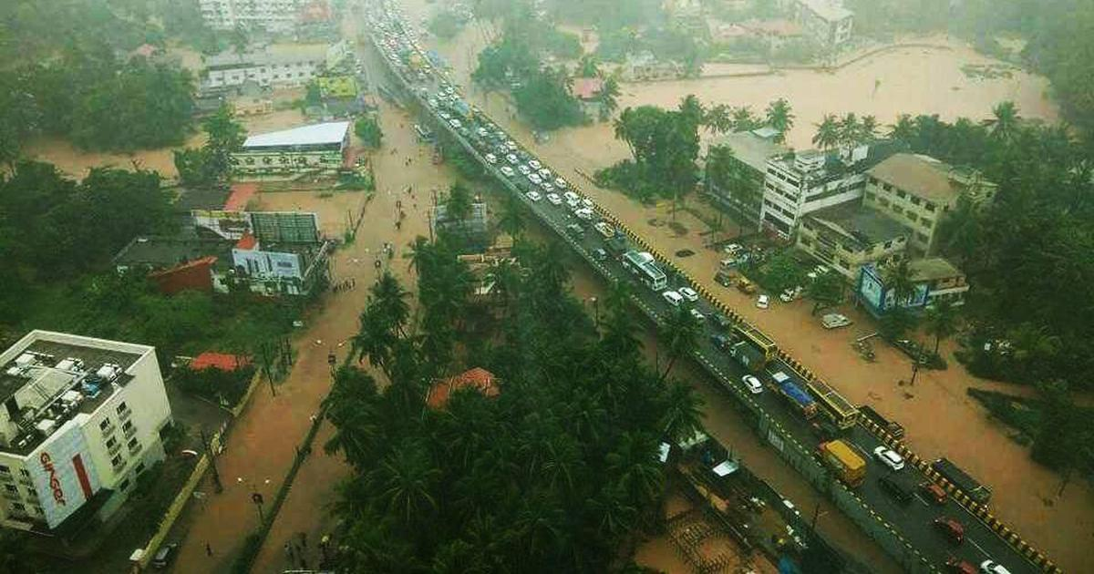 Heavy rain lashes Mangaluru, leaves several low-lying areas inundated