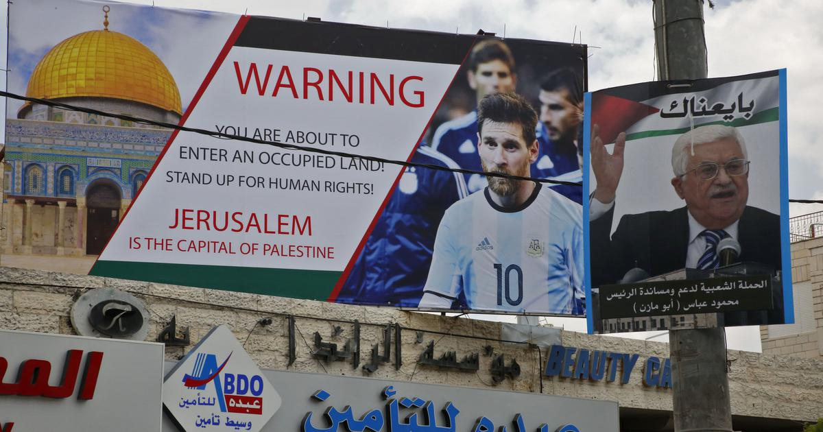 Palestinians celebrate Israel's spectacular Messi 'own goal'