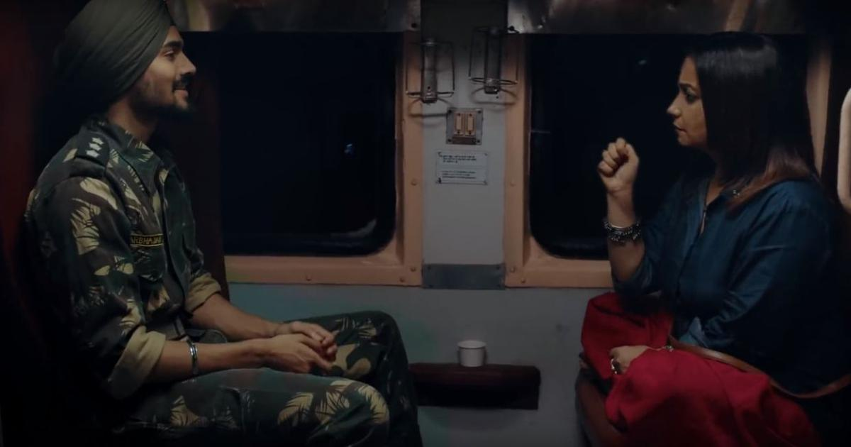 Watch: In 'Plus Minus', Bhuvan Bam's Army soldier gives Divya Dutta life lessons