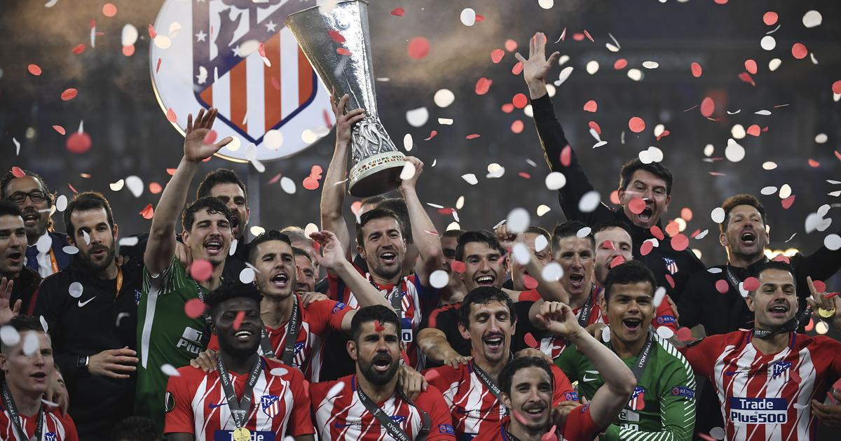 Antoine Griezmann brace helps Atletico Madrid win Europa League title