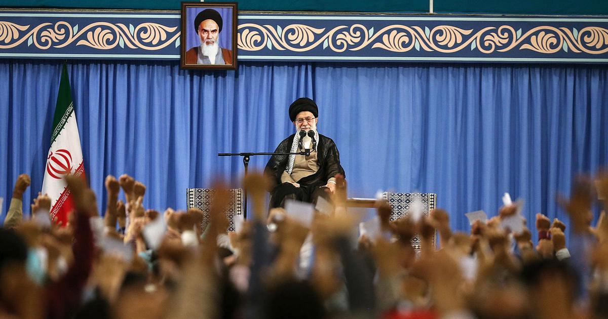 'There will be no war, nor will we negotiate with the United States,' says Iran's supreme leader