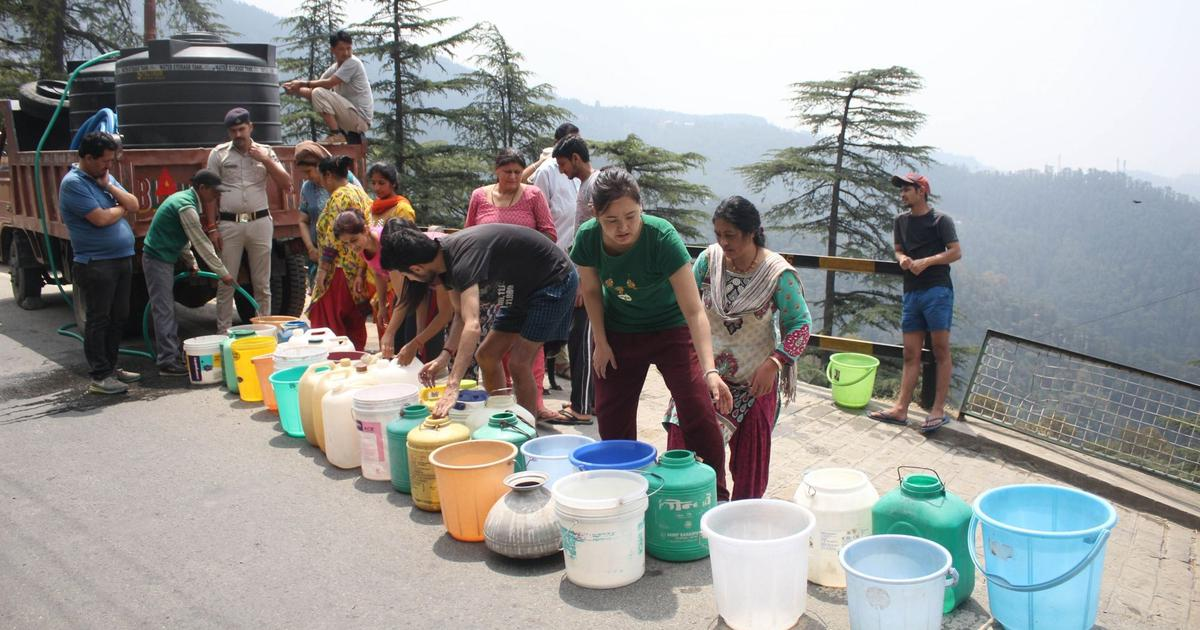 Shimla: Amid water crisis, woman dies after water tanker hits her on Mall Road