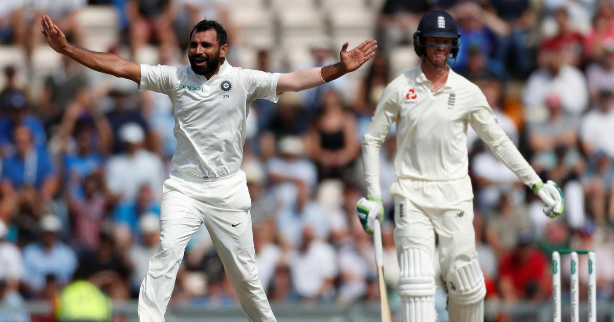 I watched videotapes of James Anderson and Stuart Broad to bowl in England: Mohammed Shami