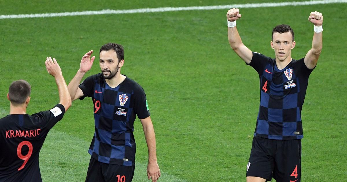 Perisic hails 'dream' goal against England as Croatia reach World Cup final