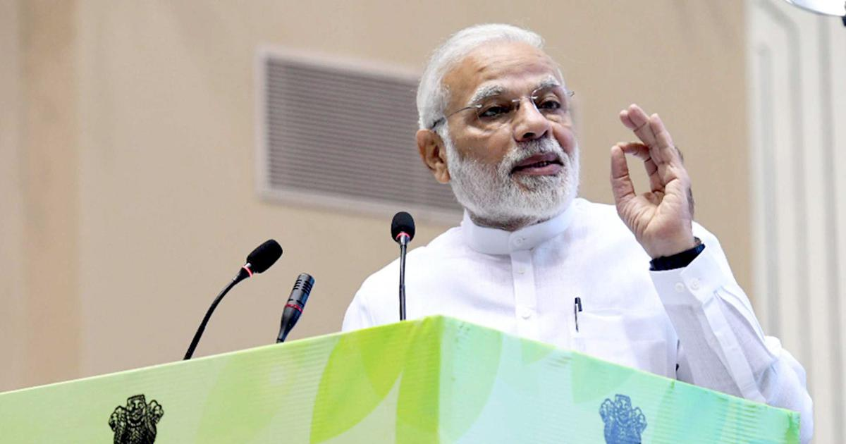 Innovation will be the foundation for economic growth, says Narendra Modi at IIT Bombay