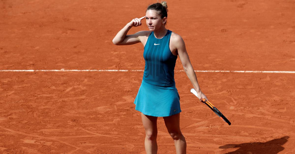 Top seed Halep fights back to top Kerber and reach third French Open semi-final