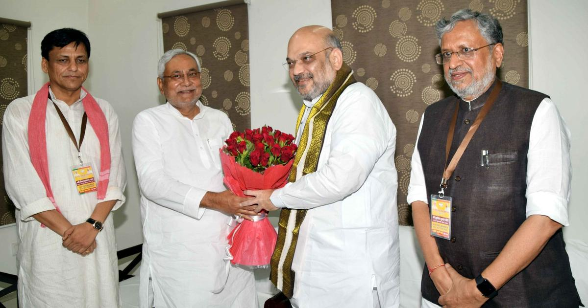 The big news: Amit Shah says there is no threat to BJP-JD(U) alliance, and nine other top stories