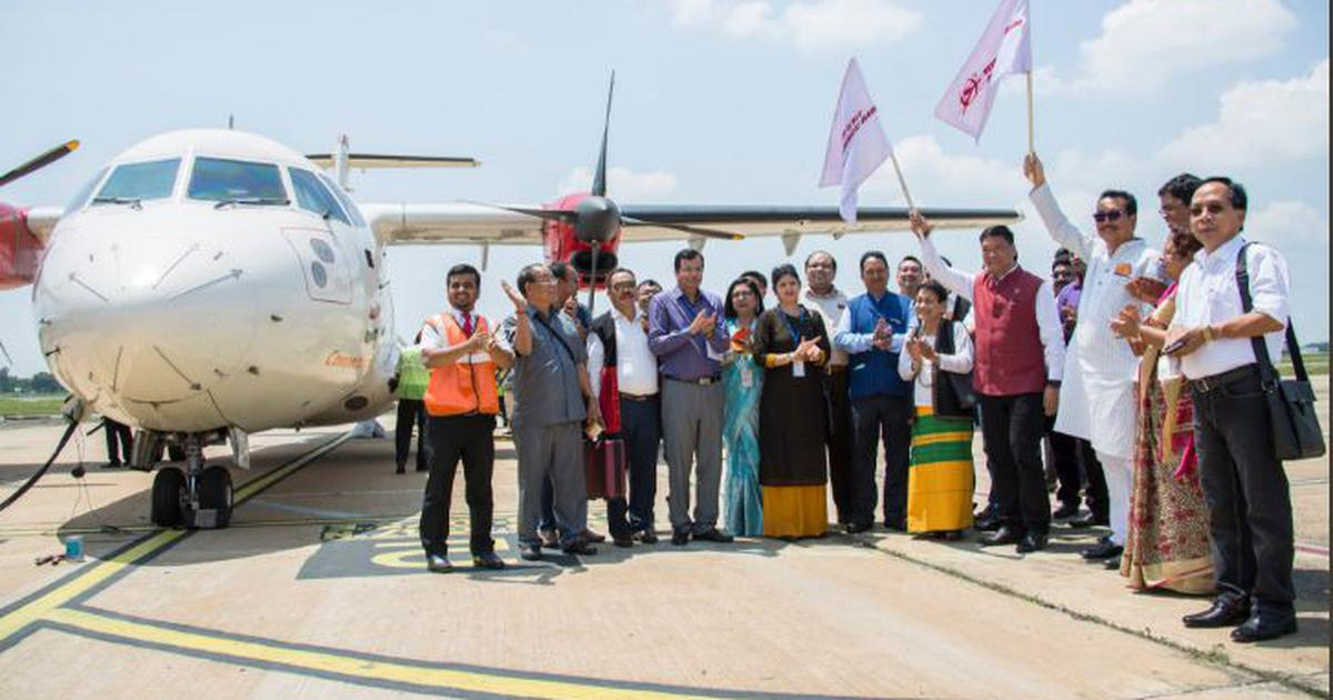'Historic moment': Arunachal Pradesh now connected with Guwahati by commercial flight