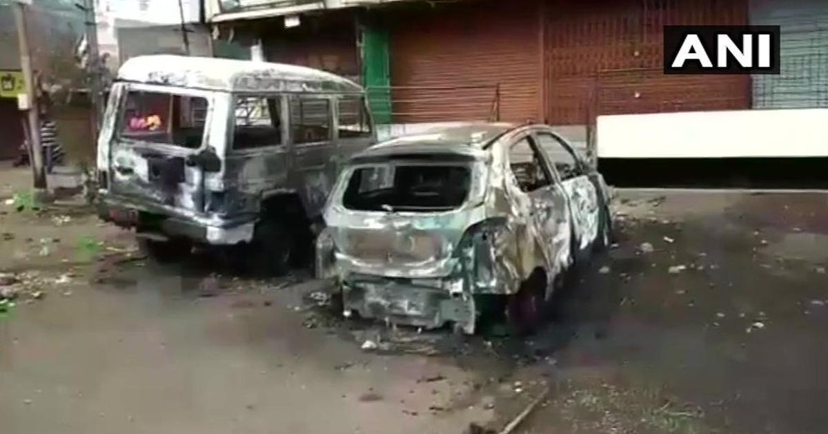 महाराष्ट्र : औरंगाबाद में हिंसा और आगजनी में एक युवक की मौत, कई घायल