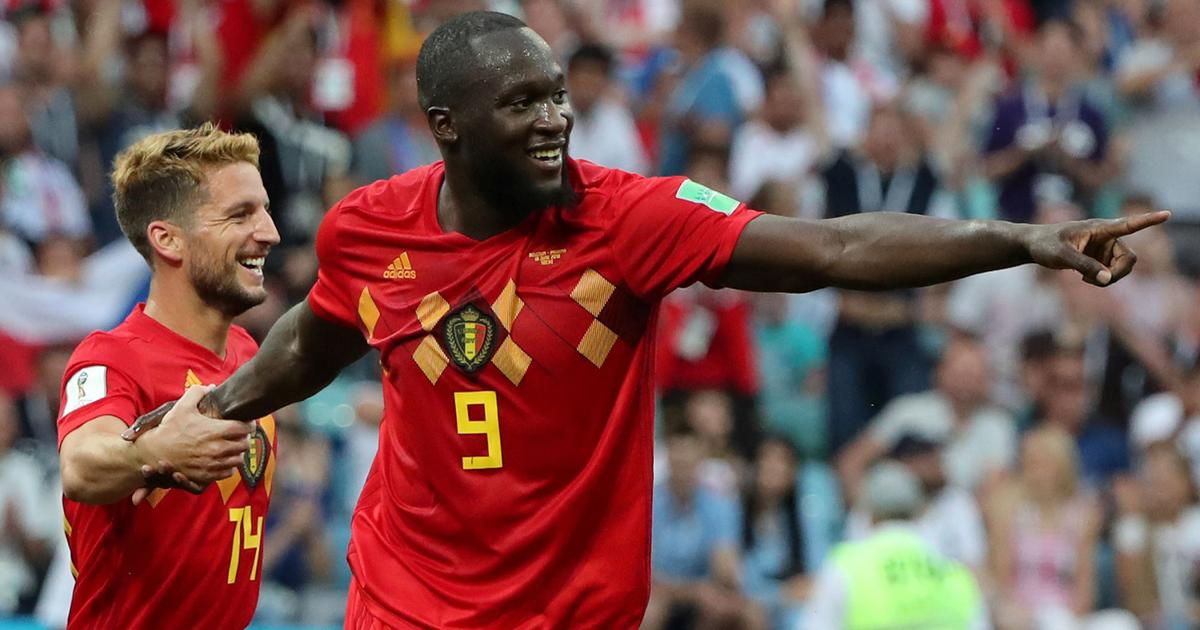 Belgium thrashed Tunisia by 5-2