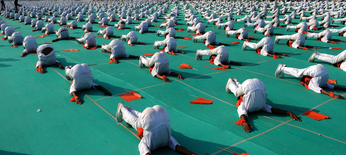 World Yoga Day:  Government's protocol about chanting 'Om' sparks controversy