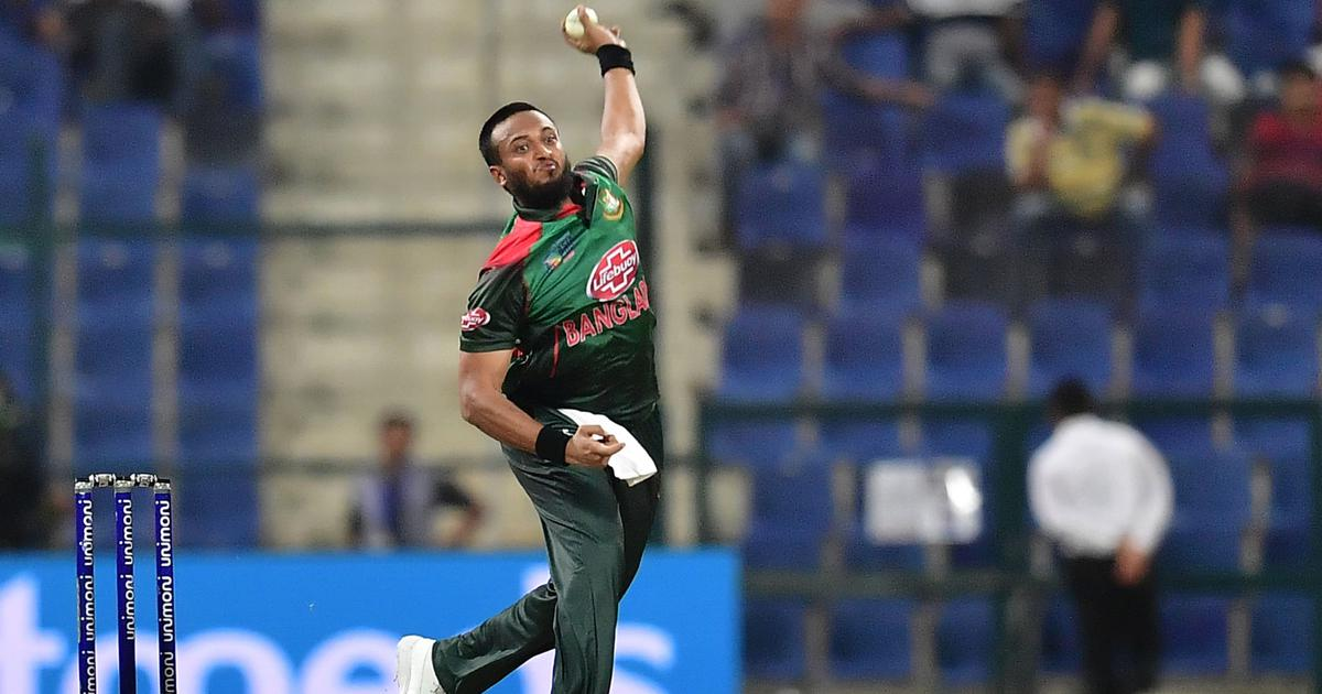 Bangladesh's injured all-rounder Shakib Al Hasan races against time to be fit for tri-series final