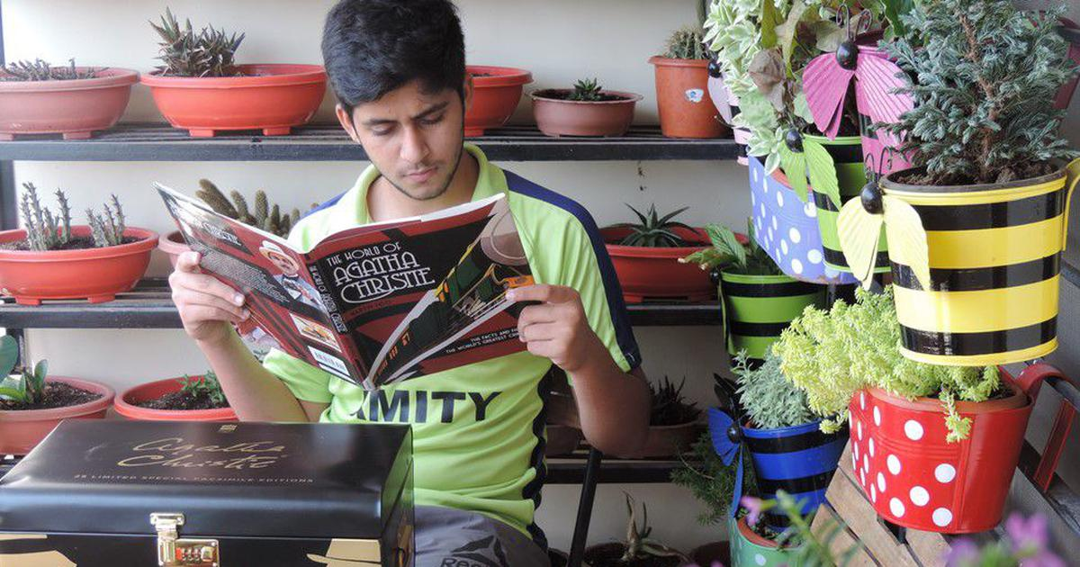 Meet the 17-year-old student behind Bhopal's two-month-long Agatha Christie Crime Festival