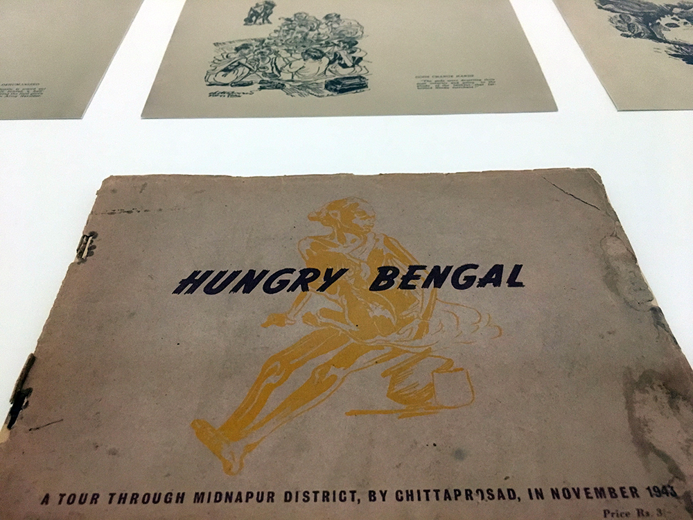Hungry Bengal: A Tour Through Midnapur District, by Chittaprosad Bhattacharya, created in November 1943. Image courtesy: Vijay Prashad