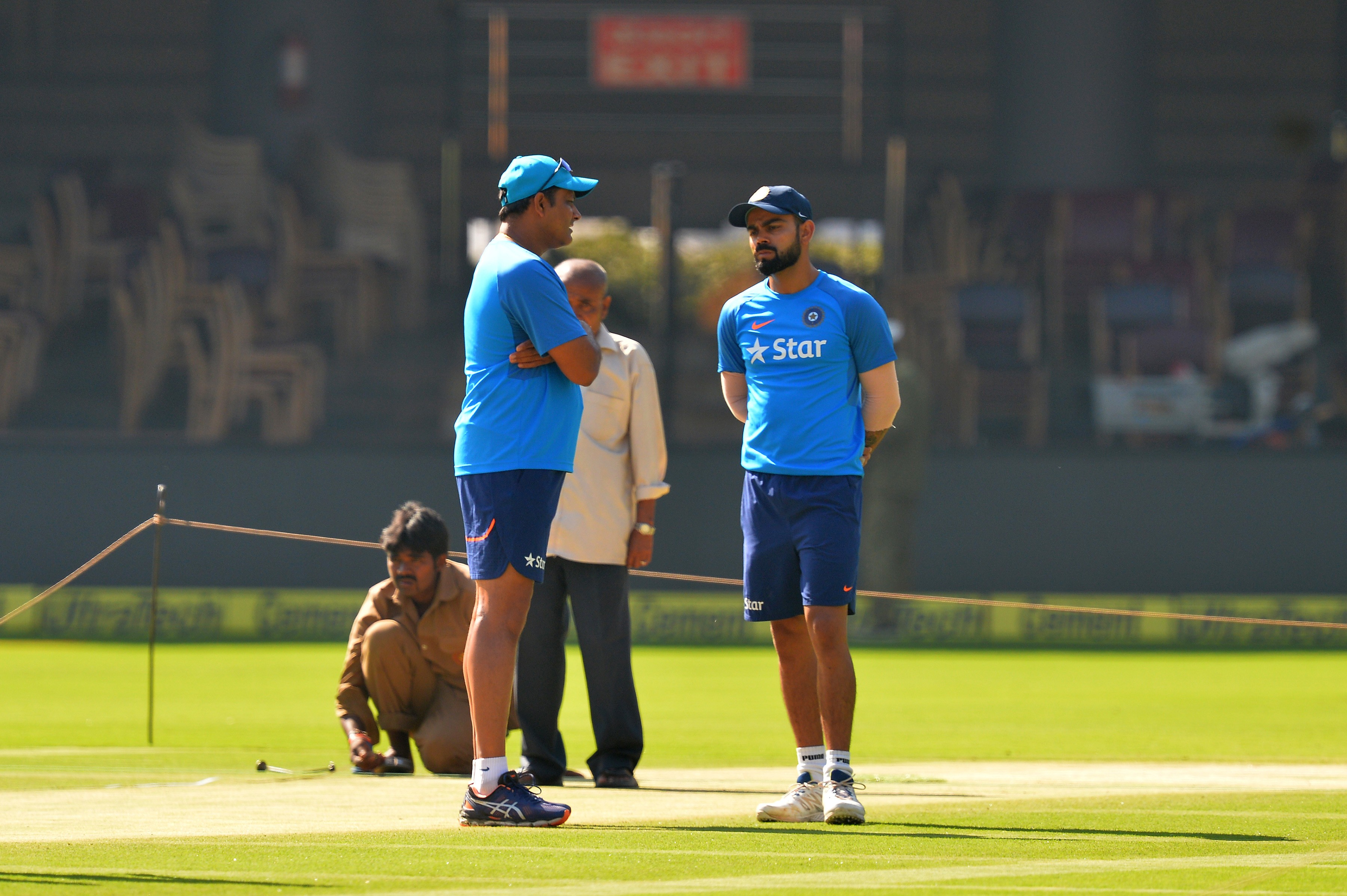 By preparing back-to-back turning wickets, it shows India don't have confidence in themselves, said Naik (AFP)