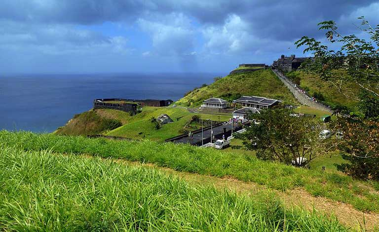 Karibik, St. Kitts, Brimstone Hill Fortress National Park, a UNESCO World Heritage Site. Many such sites include both natural and historical treasures. Photo credit: giggel/Panoramio/Wikimedia Commons [Licensed under CC BY 3.0]