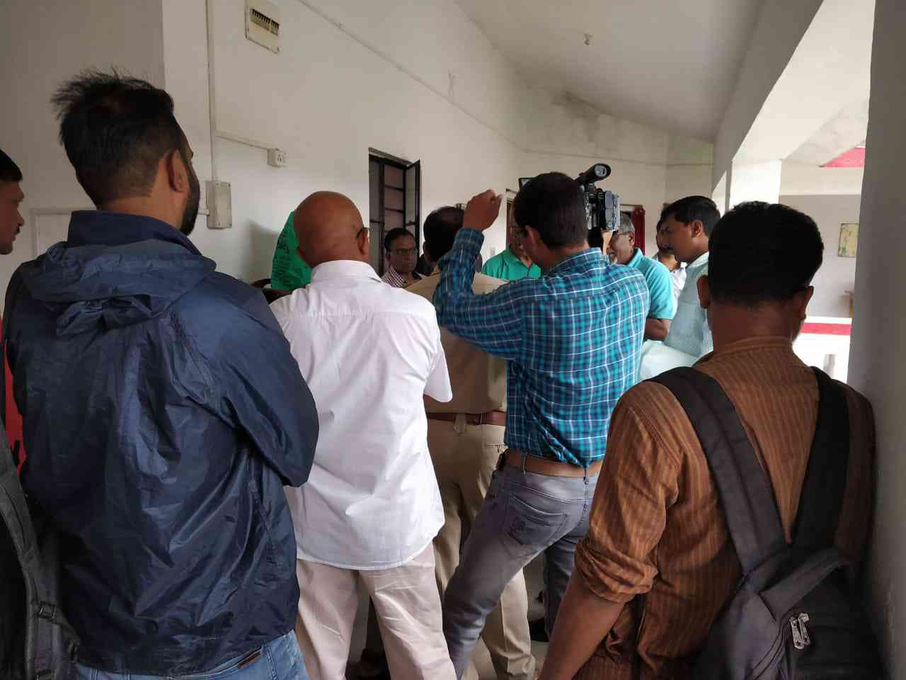 The raid on Stan Swamy's premises in Ranchi.