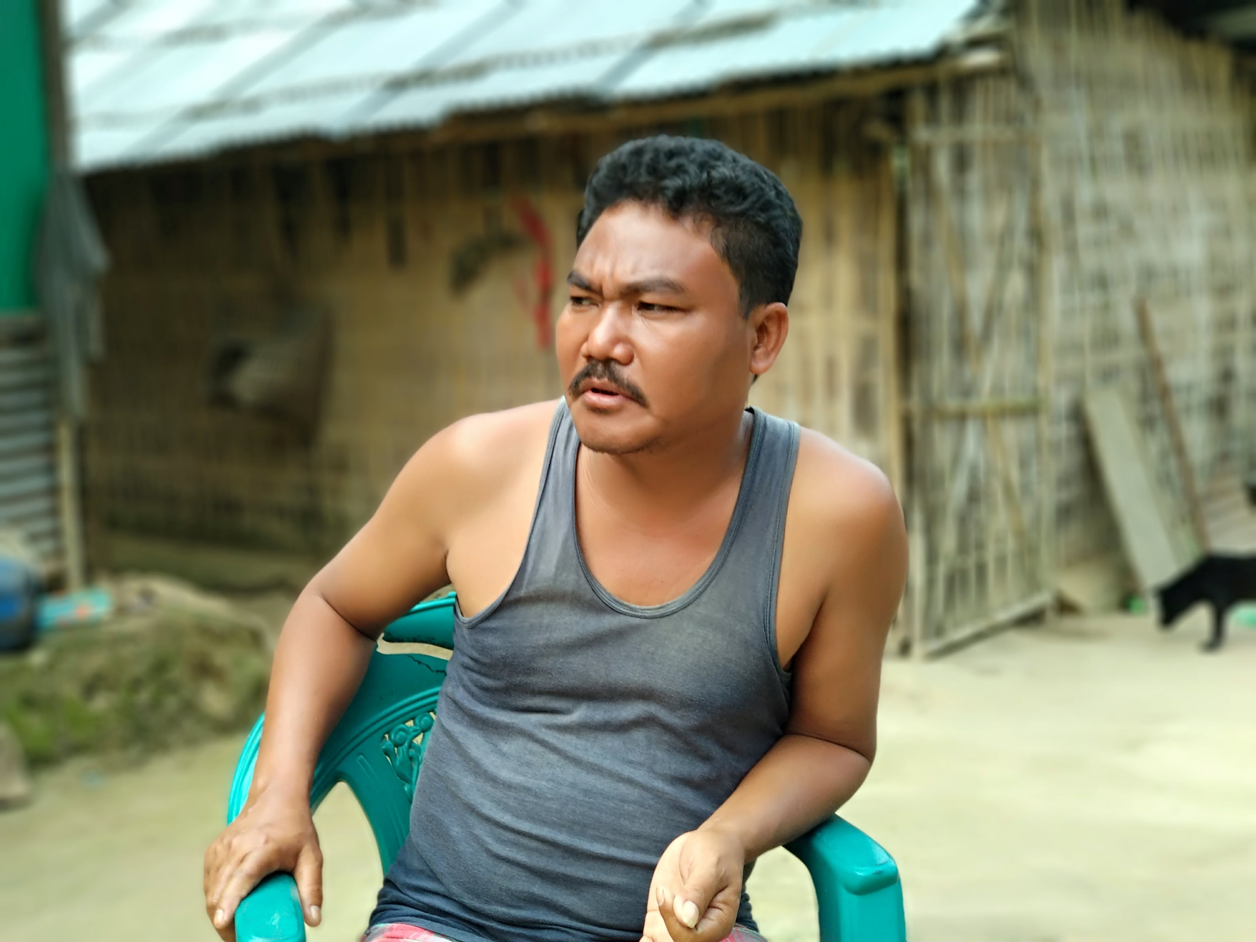 Niranjan Kalai, a former insurgent who gave up arms in 1992, claims he received no benefits from the state government's rubber-based rehabilitation  program
