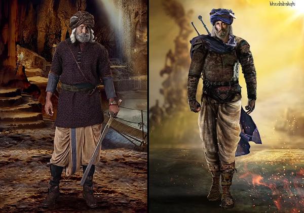 Amitabh Bachchan as Khudabaksh in Thugs of Hindostan. Courtesy Yash Raj Films.