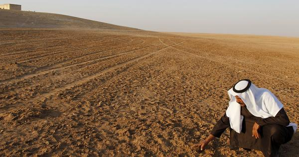 Climate change and drought: a spark in igniting Syria's civil war