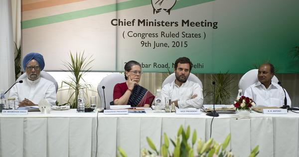 Congress gets ready to attack Modi for neglecting states, cutting social-sector funding