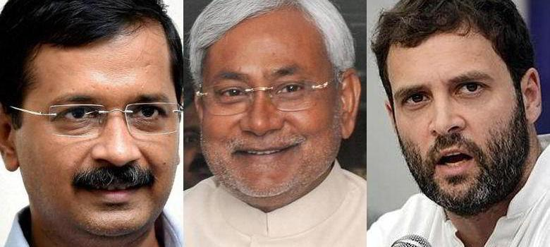 How Nitish and Kejriwal (not Rahul Gandhi) have become the faces of opposition to the BJP