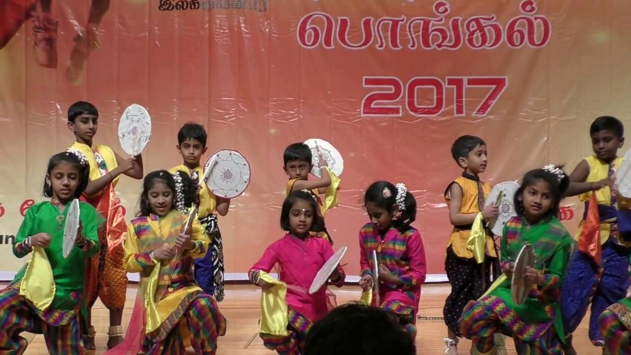 A cultural programme celebrating the Tamil New Year. Photo credit: Jakarta International Expo/Facebook.