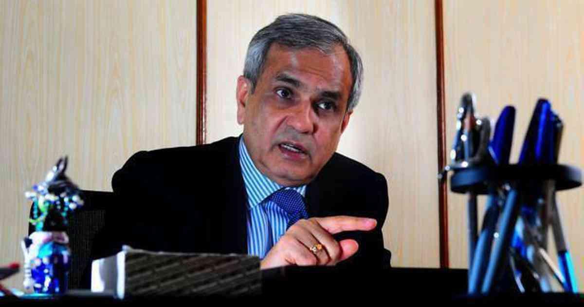 File photo of Rajiv Kumar, head of the NITI Ayog. (Photo credit: PTI).