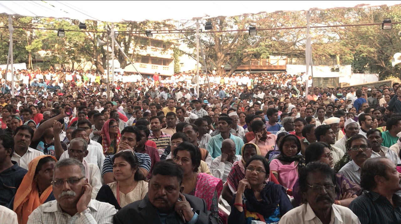 A section of the audience. Credit: Shone Satheesh