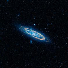 Astronomers stumble across giant 'Frankenstein' galaxy they had earlier mistaken for a small one