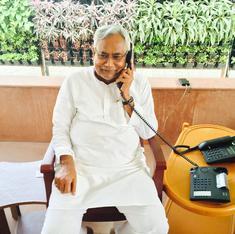 Floods: Nitish Kumar meets Narendra Modi to seek Centre's help in desilting Ganga