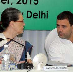 Sonia gets another year as Congress head but makes it clear that Rahul will play major role