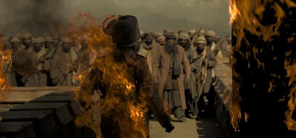 Kesari (2019). Courtesy Dharma Productions/Zee Studios.