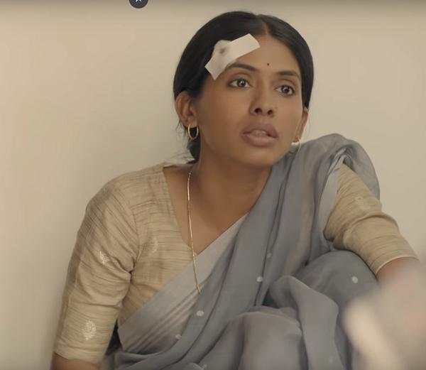 Anjali Patil in Hutatma (2019). Courtesy Zee5.