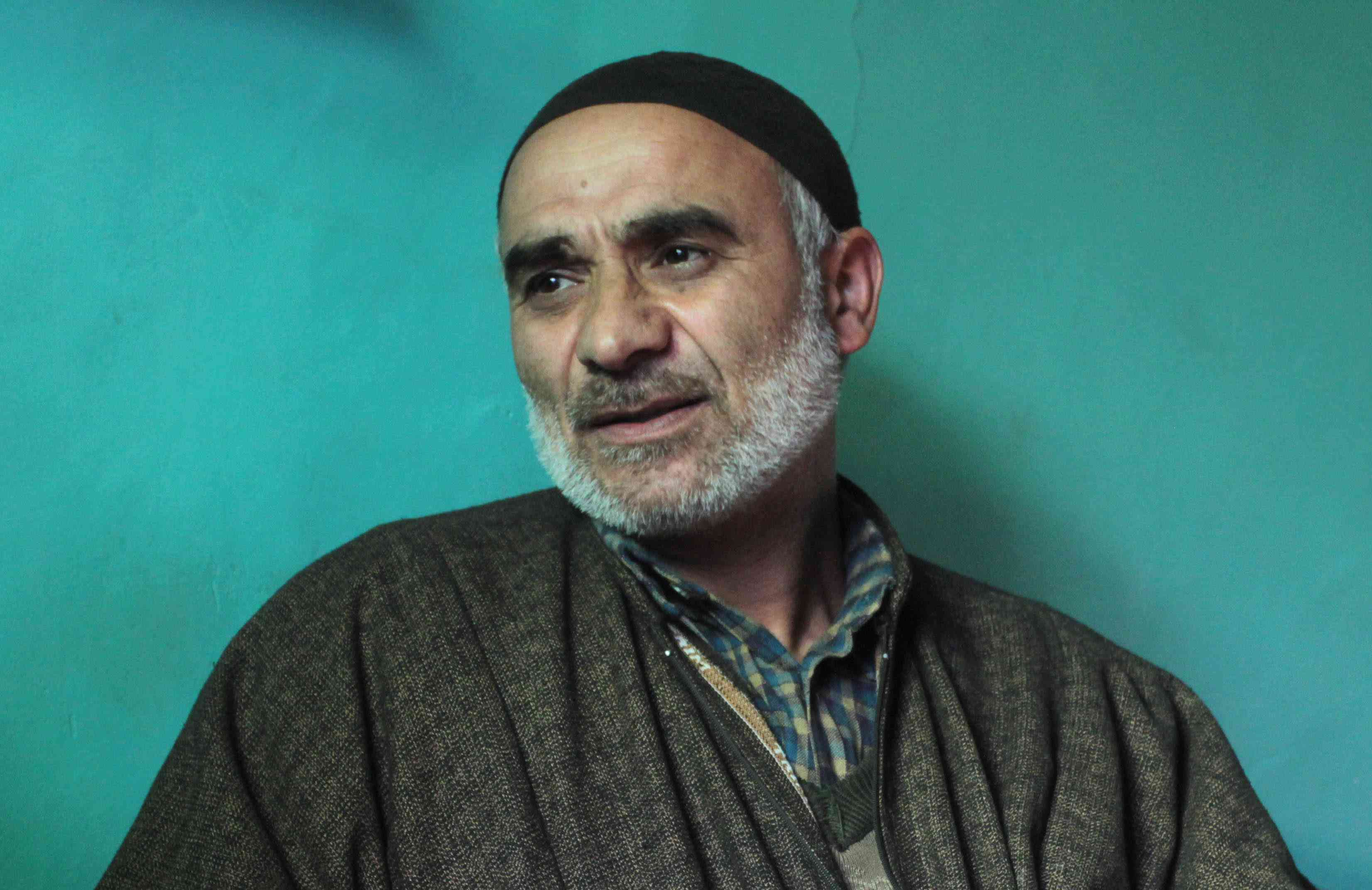 Manzorr Ahmad Bhat, father of Nadeem Manzoor, said they were in the dark about his son's alleged role as an informer.