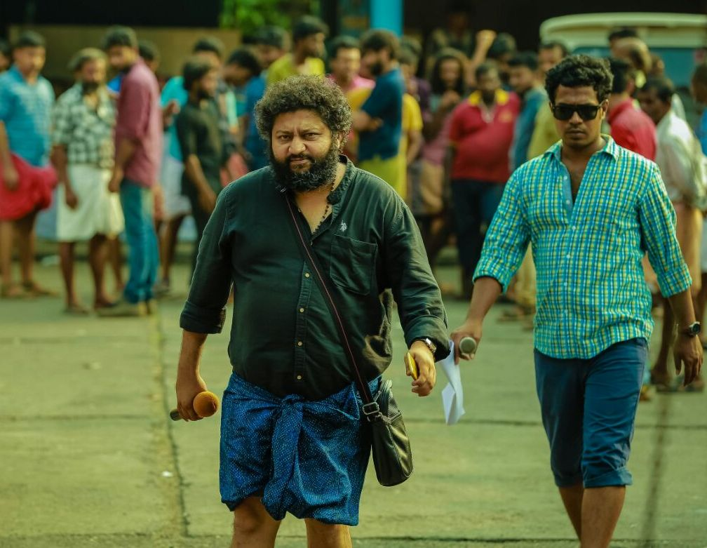 Lijo Jose Pellissery (left).