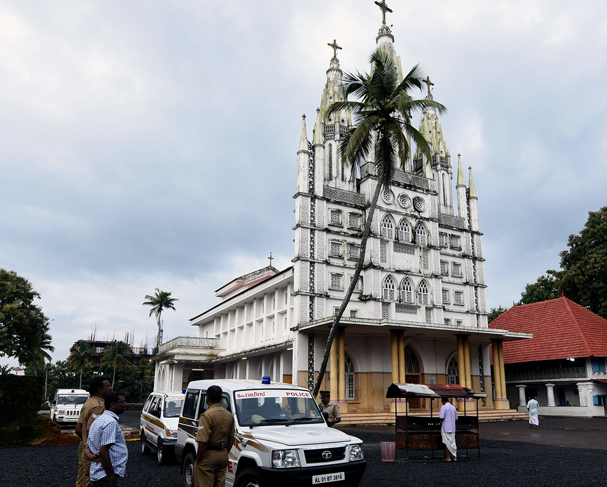 St Peter's Church in Kolenchery, Ernakulam district, witnessed many clashes between Orthodox and Jacobite factions.