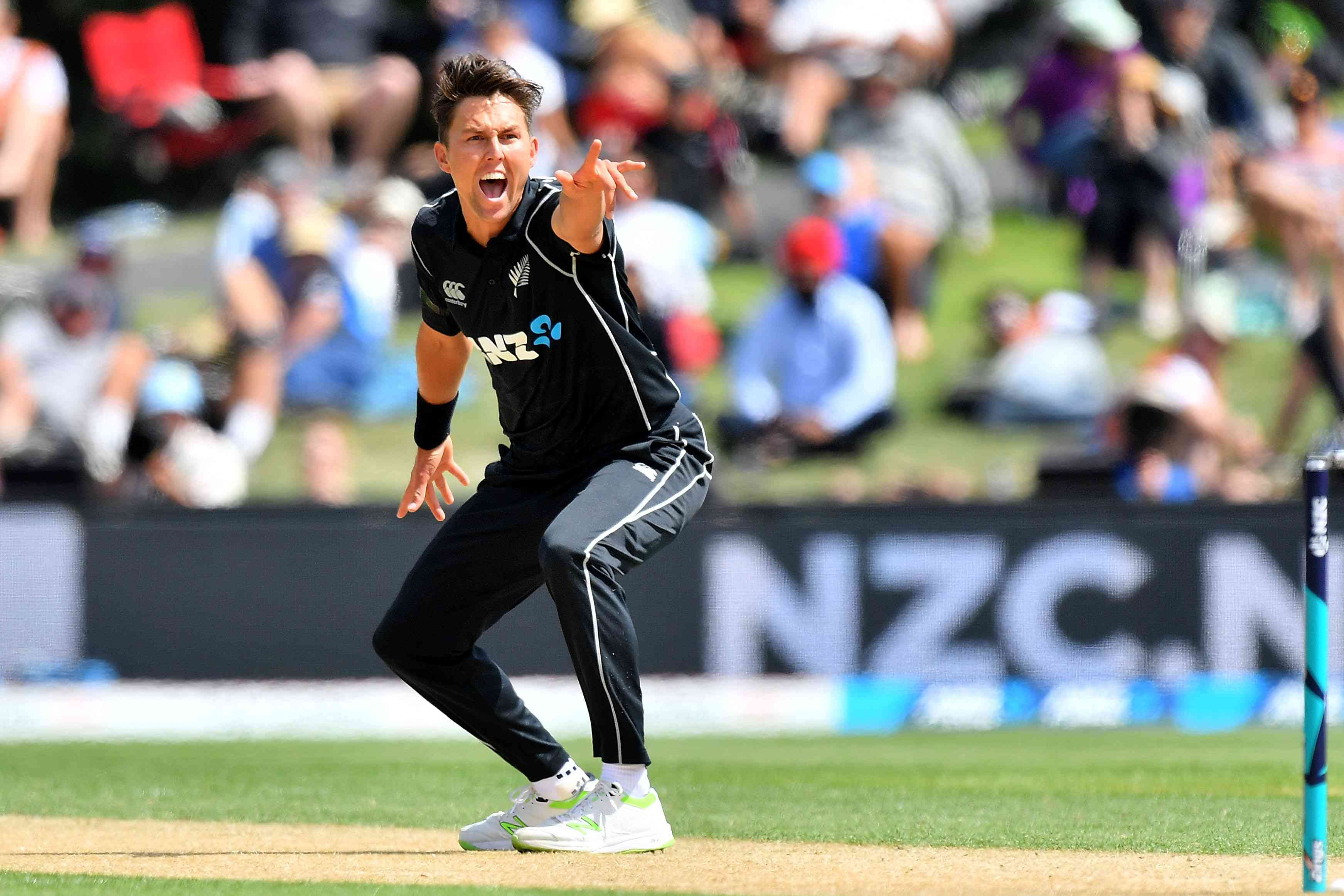Trent Boult was on song in Hamilton / Image: AFP