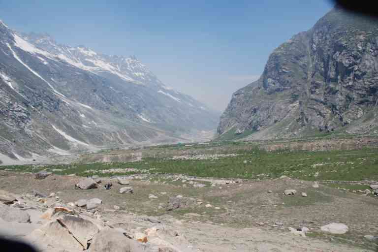 Chhatru, Chandra Valley, Lahaul Spiti H.P, Forest Dept Successful Plantation Drive. Photo credit: Milap Sharma.