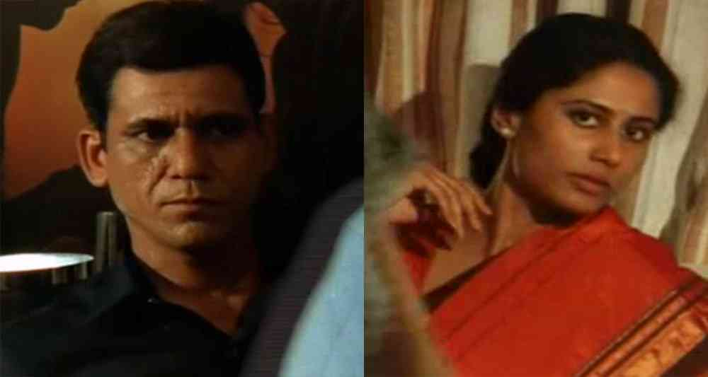 Om Puri and Smita Patil in Ardh Satya. Courtesy Neo Films Associates.