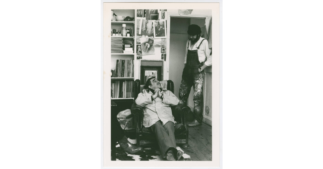 Gabriel Garcia Marquez with Dario Morales, 1973 (Harry Ransom Center at The University of Texas, Austin)